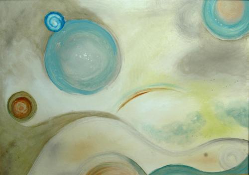 Bubbles 25 x 34