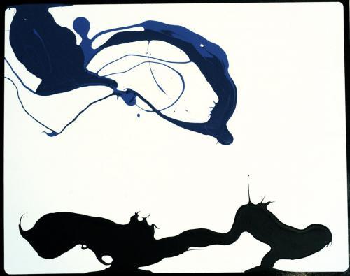 Landscape (blue) 16 x 20